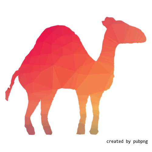 Dromedary, Terrestrial Animal, Camel, Low Poly transparent png image under public domain license